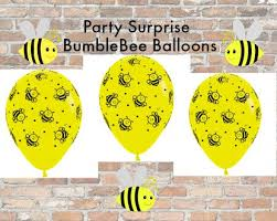 bumblebee decorations bumble bee cupcake topper gold glitter baby shower bumblebee