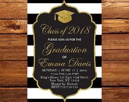 college graduation invitation college graduation invitations etsy