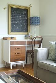 Mid Century Desk Two Toned Midcentury Modern Desk Desk Makeover General Finishes