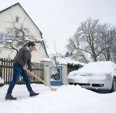 Haus Und Grundst K Schneeräumen Die Unbeliebte Pflicht Bei Schnee Und Eis Welt