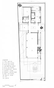 house builder plans volumes shaping a linear floor plan alnwick road house floor plan