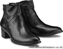 womens black boots nz low priced paul green leather boots black poaq womens