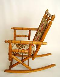 Let Me Be Your Rocking Chair Childs Antique Fancy Victorian Rocking Chair C 1880 Carpet Rocker