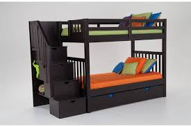Bunk Beds With Desk And Storage by Keystone Stairway Bunk Bed With Storage Trundle Unit Bob U0027s