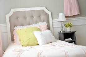 bedroom cool white tufted headboard diy tall bed headboards