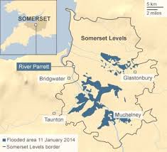 somerset map what are the somerset levels