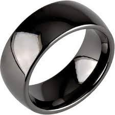 ceramic rings images 8mm classic dome black ceramic ring black wedding ring jpg