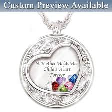 Personalized Pendant Personalized Jewelry For Moms Personalized Mothers Rings