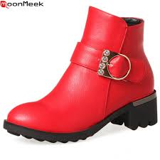 motorcycle ankle boots sale compare prices on red boots online shopping buy low price red