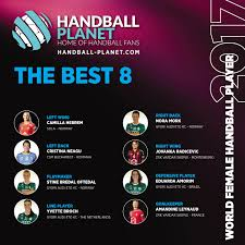 best fans in the world world female handball best 8 in 2017 handball planet