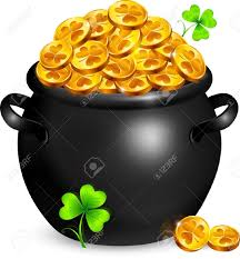 clipart gold pot clipart collection free pot of gold clipart