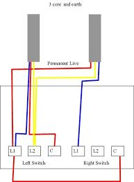 2 gang light switch wiring diagram