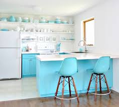 Painting Kitchen Cabinets Ideas Blue And Green Kitchen Ideas Tags Superb Turquoise Kitchen