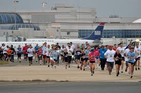 Charlotte Nc Airport Map Travel Workout 5k On The Runway Business Travel Life