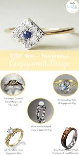 non traditional engagement rings 5 non traditional engagement rings editor u0027s etsy picks knotsvilla