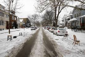 dibs on cleared parking spots chicago tribune