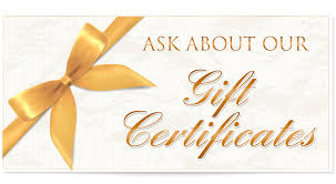 spa gift cards houston the woodlands spa gift certificates