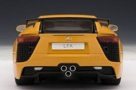 lexus lfa 12 brand new amazon com autoart 1 18 lexus lfa nurburgring package orange