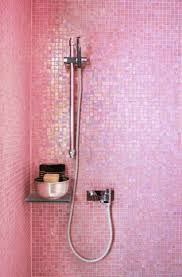 Tile Bathroom Wall by Best 25 Pink Bathroom Tiles Ideas On Pinterest Pink Bathtub