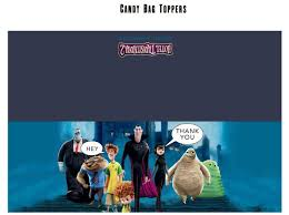 free hotel transylvania 2 printable party decoration pack