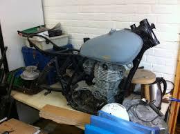 the 1977 yamaha xt500 d restoration