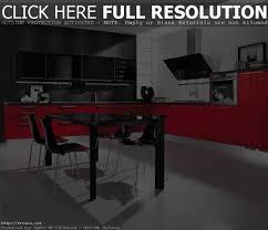 black and red kitchen design best kitchen designs