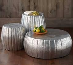 30 the best silver drum coffee tables