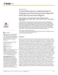 am agement petit bureau a statistically rigorous sling design to integrate avian