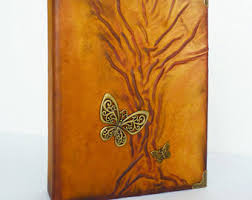 Art Leather Photo Albums Leather Paintings Art Journals Photo Albums Jewelrys By Annakisart