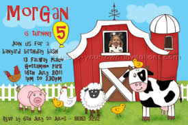 farm birthday invitations diy invite ideas