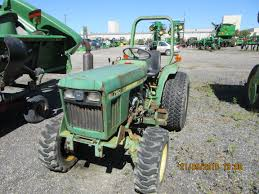 18hp john deere 750 compact diesel tractor from 30 years ago