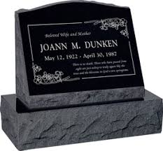 headstone cost upright headstone monument with vase polished top front and