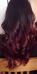 rich cherry hair colour 22 fiery red ombre hair color ideas