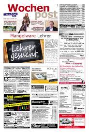 die wochenpost u2013 kw 38 by sdz medien issuu