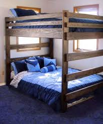 Welcome To Way Out Bunk Beds - Queen over queen bunk bed