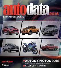 revista motor 2016 revista autodata honduras 2016 by daniel panedas issuu