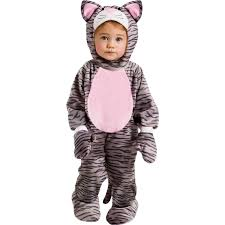 amazon com fun world little stripe kitten infant costume clothing