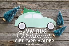 vw christmas gift card holder card kiki u0026 company