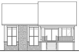 multi level home floor plans split level house plans home plan 126 1083
