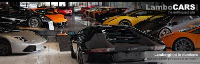 how much are the lamborghini cars lamborghini production how many units per model the on