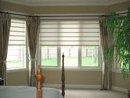 bay window curtains and blinds ideas for bay window privacy u2013 day