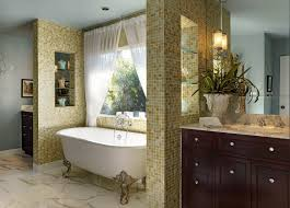italian villa bathroom traditional with arched doorway