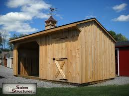 10x20 Garage 10 U0027x20 U0027 Horse Barn Animal Shelters Horse Barns Sales U0026 Prices