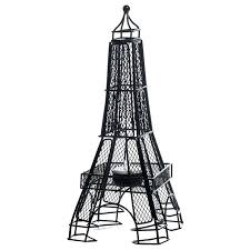 black wire eiffel tower centerpiece set of 2 party pinterest