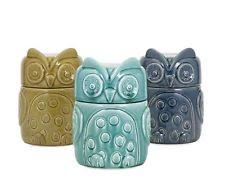 lime green kitchen canisters owl canister ebay