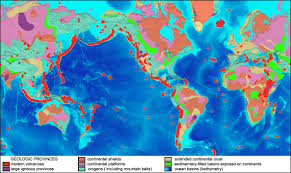 Map Of Continents And Oceans Geology Cafe Com