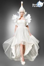swan dress white swan mask paradise
