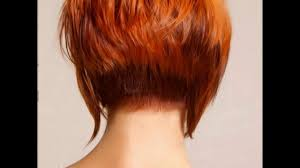difference between stacked and layered hair short stacked bob haircut pictures of the back youtube