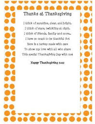 thanksgiving poems parent thanksgiving blessings