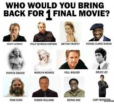 Bring It On Movie Meme - who would you bring back for 1 final movie philip seymour hoffman